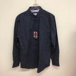 Ben Sherman | Men's Button Down Dress Shirt | Navy